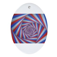 PSYCHEDELIC SPIRAL™ Ornament (Oval)