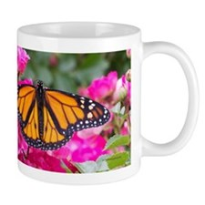 Monarch on Rose Mug