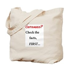 Facts First Tote Bag