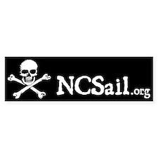 NCSail Pirate bumper sticker