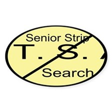 Senior Strip Search Custom Decal