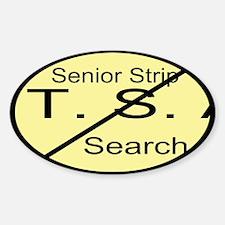 Senior Strip Search Custom Decal