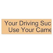 Use Your Camel Custom Bumper Sticker
