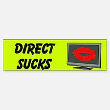 Direct Sucks Custom Bumper Bumper Sticker