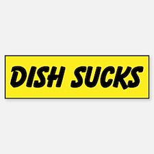 Dish Sucks Custom Bumper Bumper Sticker