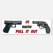 In Doubt Pull It out Custom Car Car Sticker