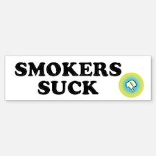 Smokers Suck Custom Bumper Bumper Sticker