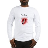 I\'m fine tee Long Sleeve T-shirts