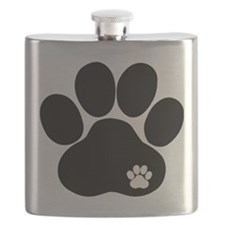 Double Paw Flask