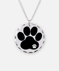 Double Paw Necklace
