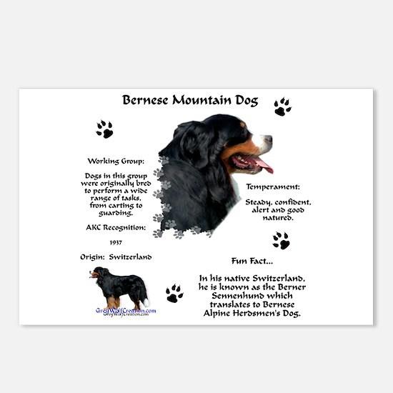 Berner 1 Postcards (Package of 8)