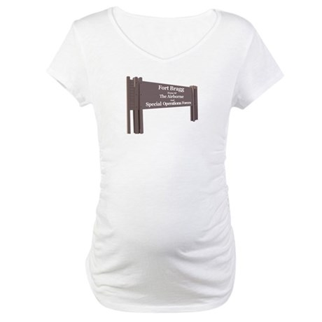 Fort Bragg Maternity T-Shirt