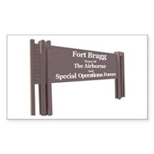 Fort Bragg Decal