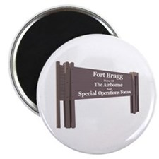 Fort Bragg Magnet