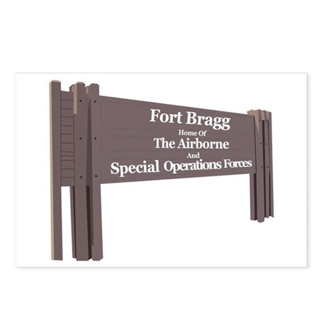 Fort Bragg Postcards (Package of 8)