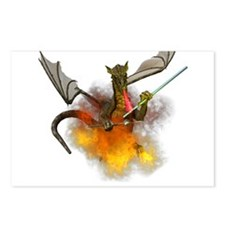 Funny Fantasy dragon Postcards (Package of 8)