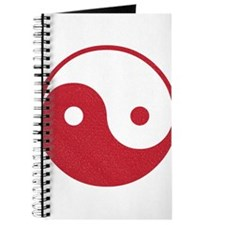 Vintage Yin Yang Journal