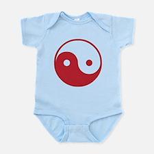 Vintage Yin Yang Infant Bodysuit