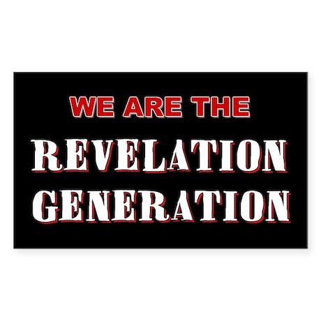 Revelation Generation Rectangle Sticker