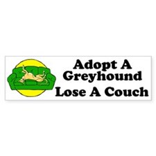 Lose a Couch (G) Bumper Bumper Sticker