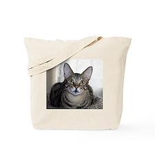 Savanna Cat Portrait Tote Bag