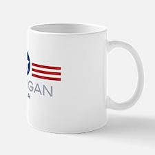 Michigan-Star Stripes: Mug