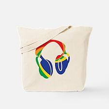 Groovy Headphones Tote Bag
