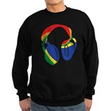 Head phones Sweatshirt (dark)