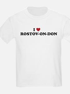 I Love Rostov-on-don T-Shirt