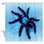 Big Tarantula Shower Curtain