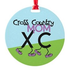 Cross Country Mom Ornament