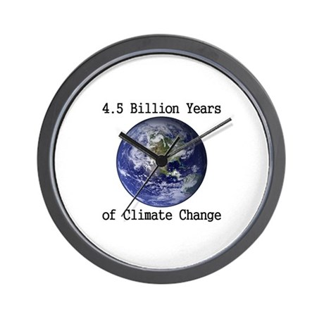 4.5 Billion Years of Climate Change Wall Clock
