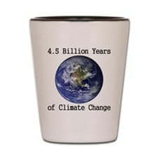 4.5 Billion Years of Climate Change Shot Glass