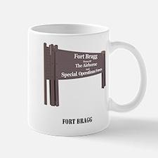 Fort Bragg with Text Mug