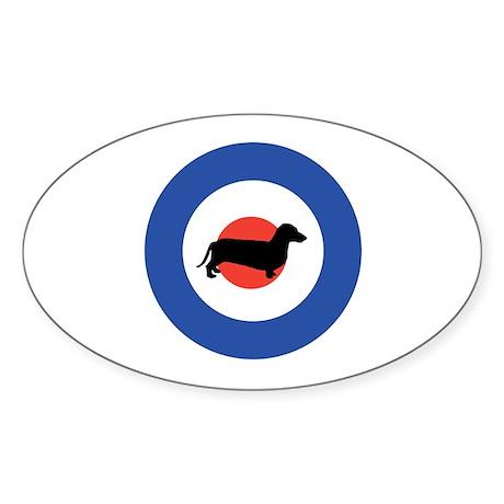The Mod Oval Sticker