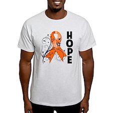 Flower Hope Ribbon RSD T-Shirt