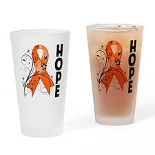 Flower Hope Ribbon RSD Drinking Glass