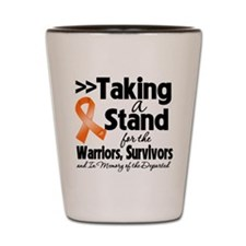 Taking a Stand RSD Shot Glass