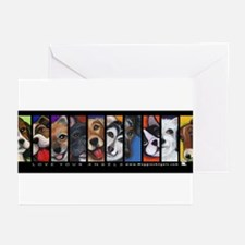 Maggie's Angels Dogs Greeting Cards (Pk of 10)