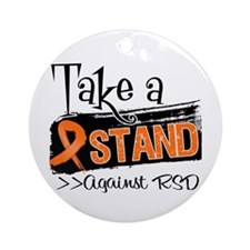 Take a Stand Against RSD Ornament (Round)