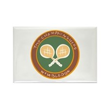 Tennis Rectangle Magnet