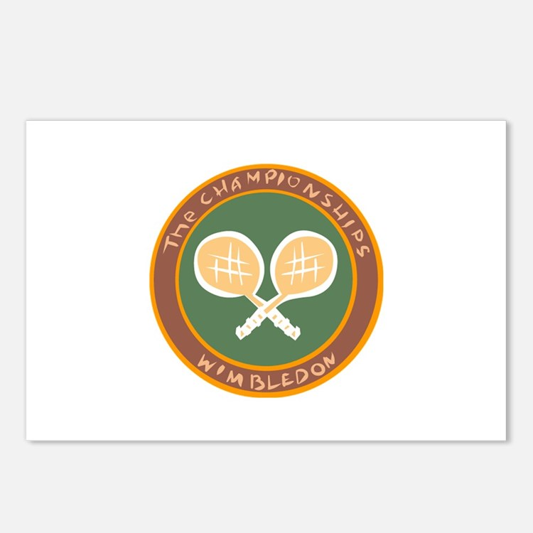 Tennis Postcards (Package of 8)