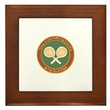Wimbledon Framed Tiles