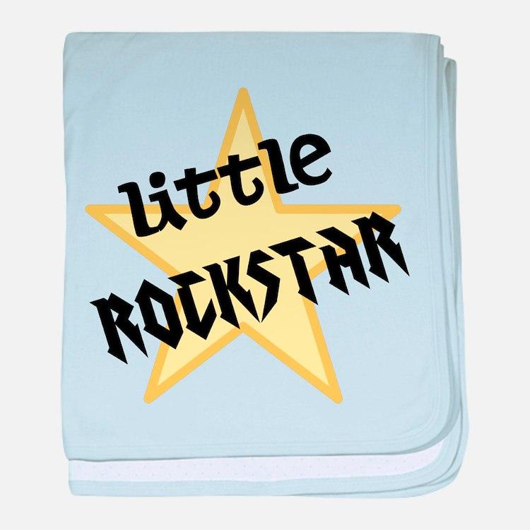 Little ROCKSTAR baby blanket