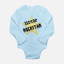 Little ROCKSTAR Long Sleeve Infant Bodysuit