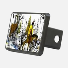 Native American Warrior Hitch Cover