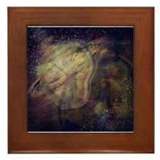 Worlds Collide Series Framed Tile