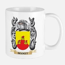 Becket Family Crest - Becket Coat of Arms Mugs