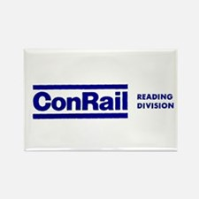 Conrail Reading Division Rectangle Magnet
