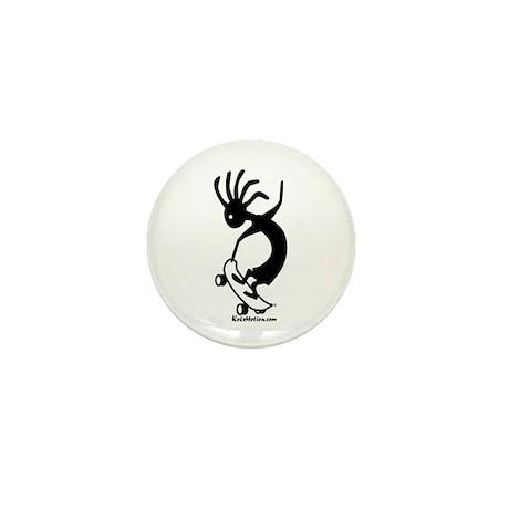 Skateboarder Mini Button (100 pack)